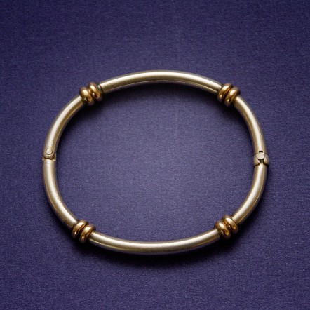 Sterling and Gold Bracelet