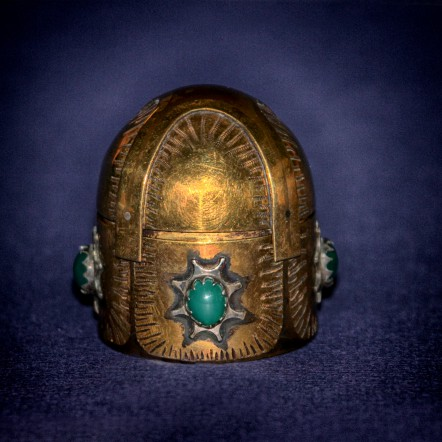 Dome Lid Renaissance Treasure Box